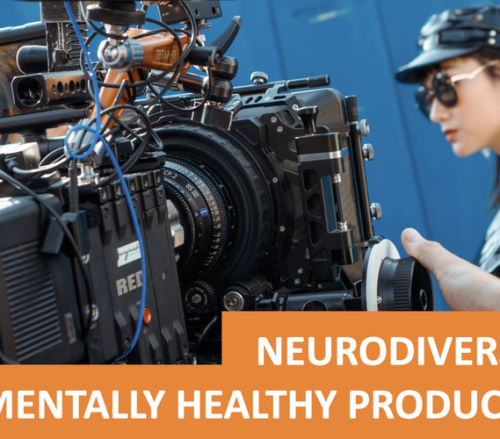 Mental health in film and TV event header image